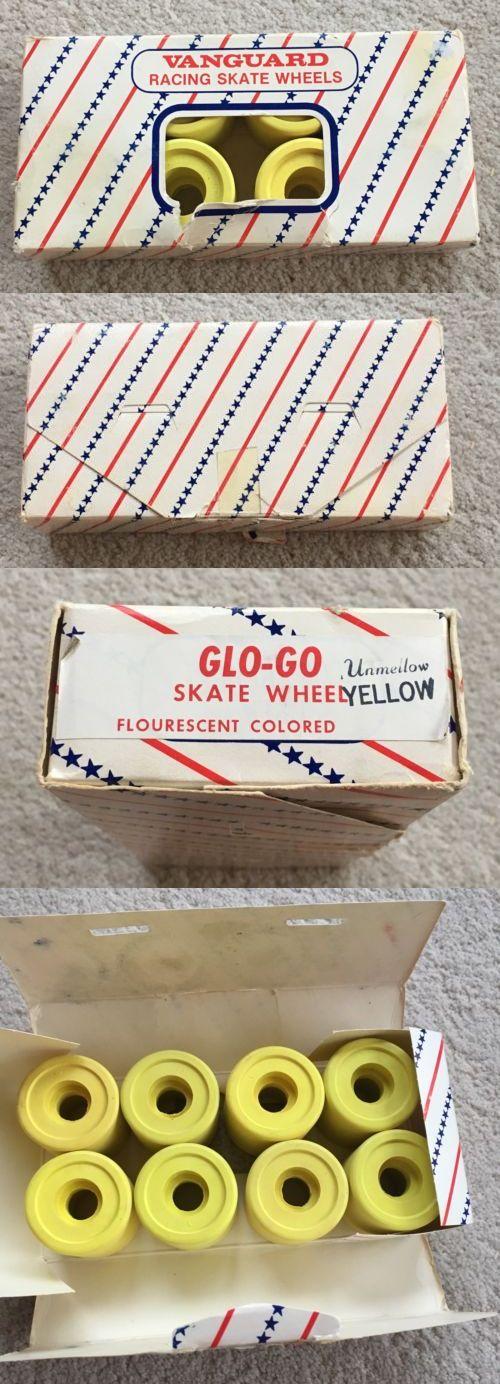 Indoor Roller Skating 165938: Vintage Vanguard Racing Roller Skate Wheels Glo-Go Unmellow Yellow Nos -> BUY IT NOW ONLY: $89.99 on eBay!