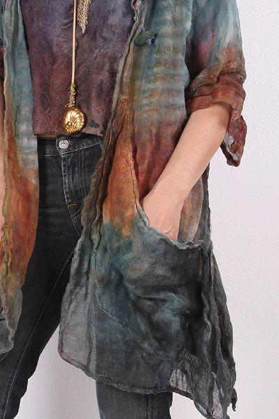 Aproximat von Tatiana Palnitska - Kunst zum Tragen Originals - Farbe