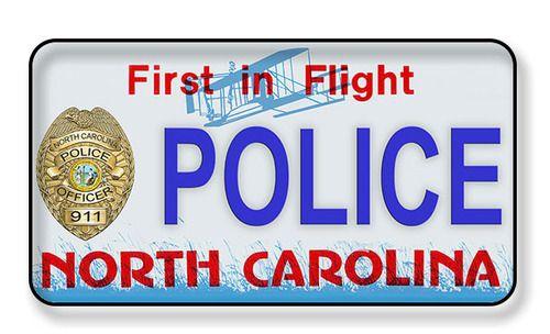 North Carolina License Plate First In Flight Magnet