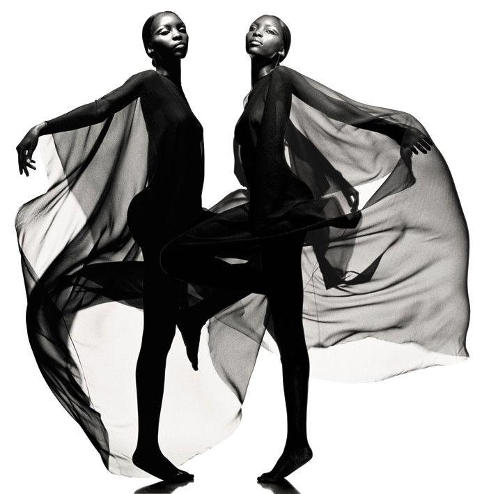 Juan Gatti - Photographers - Advertising - Jesus Del Pozo In Black | Michele Filomeno
