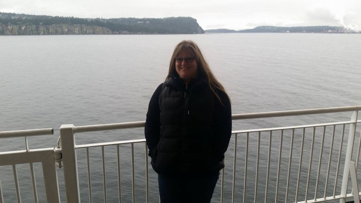 Riding the ferry from Vancouver to Nanaimo..Nov.2016