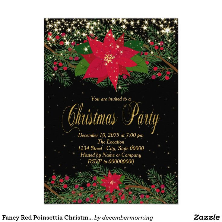 65 best Corporate Christmas Party Invitations images on Pinterest ...
