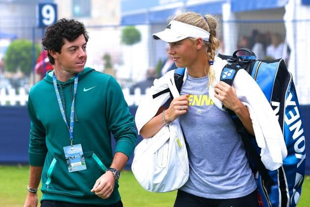 Rory McIlroy Reportedly Broke Up with fiance Caroline Wozniacki in 3-Minute Phone Call - WHAT A JERK!!!!!