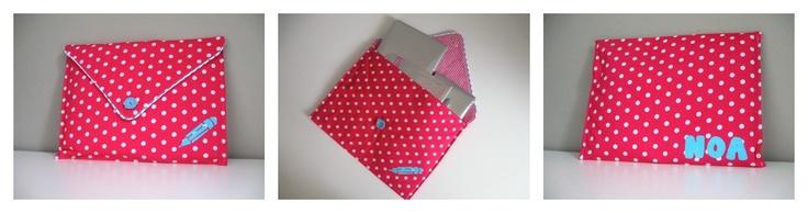 Ladybug & Co: Stoffen Envelop XXL