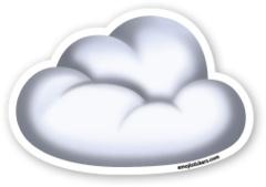 Cloud   Emoji Stickers