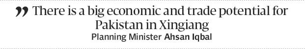 Bolstering cooperation: Pakistan proposes deal with Xinjiang - The Express Tribune