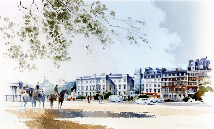 Chapman Taylor masterplanned Grosvenor Estate, London