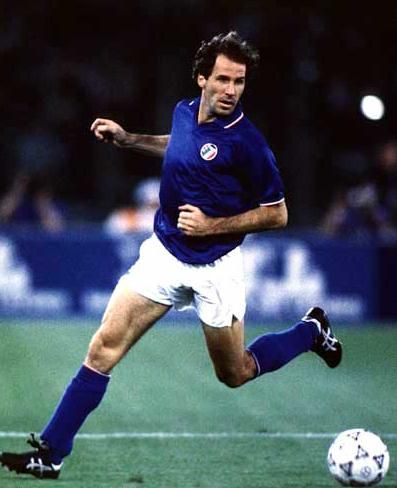 Franco Baresi, who played in three Fifa World Cups (1982 - 1990 - 1994) with Italy