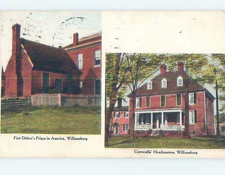 http://www.ebay.com/itm/Pre-1907-DEBTORS-PRISON-JAIL-Williamsburg-Near-Jamestown-Yorktown-VA-A0498-/322316757628?hash=item4b0b936a7c:g:I3wAAOSwal5YG~4-