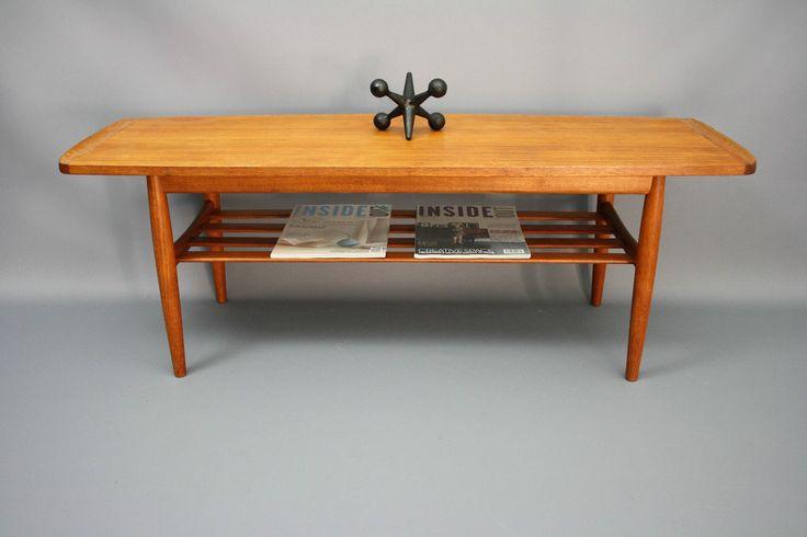 MID Century Parker Furniture Original Coffee Side Table Magazine Rack Retro Vintage Teak Danish ERA, VIC | eBay 360 Modern Furniture