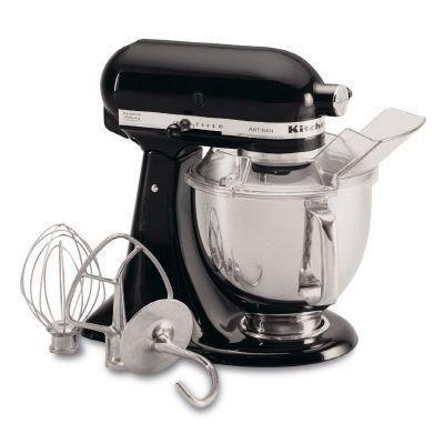 KitchenAid Artisan Series 5 qt. Stand Mixer in Onyx Black