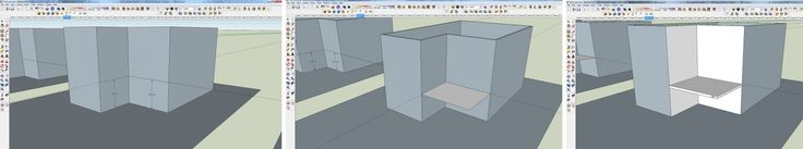 course.jpgבניית מרפסת במודל SKETCHUP