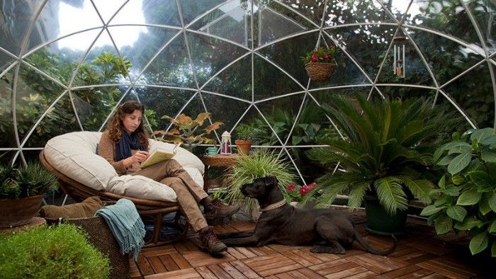 Garden Igloos – An Awesome Year Round Outdoor Oasis