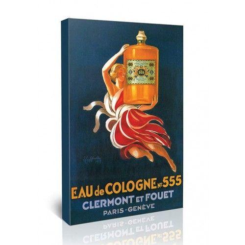Eau de Cologne 555 - לאונטו קפיאלו   גאיה - הדפסות קנבס לבית ולמשרד