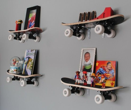 Cool Shelving ideas for boys room | Pinterest Most Wanted