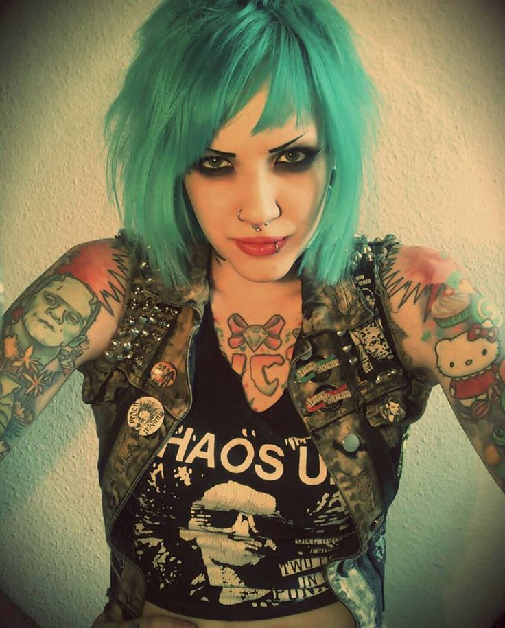 420 best images about alternative style on pinterest for Hair tattoo for girl