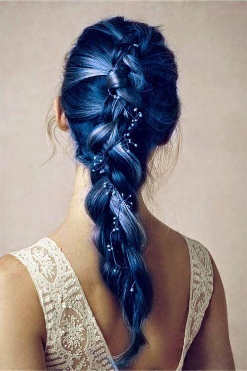 Astonishing 1000 Ideas About Dark Blue Hair On Pinterest Blue Hair Scene Hairstyles For Women Draintrainus