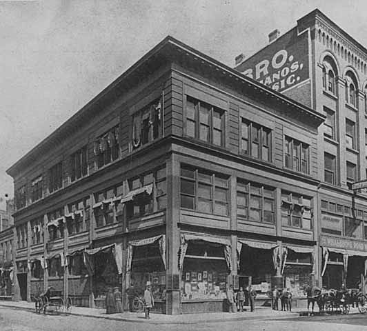 St Paul Book Stationery Company 29 West Fifth Northeast Corner