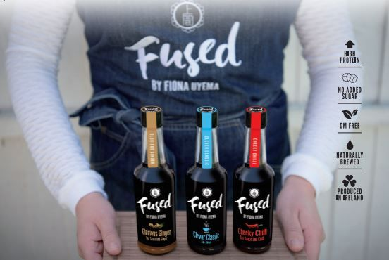 Fused by Fiona Uyema - flavoured range of soy sauces using GM free soy beans with no added sugar, preservatives or additives