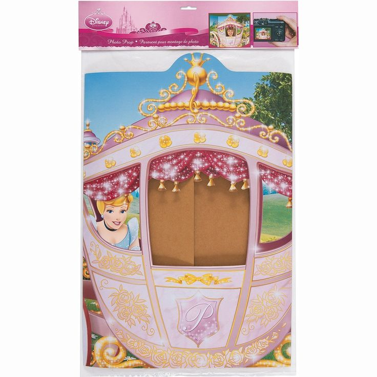 Carriage Disney Princess Photo Booth Prop & Background, Party Supplies - Amazon Canada
