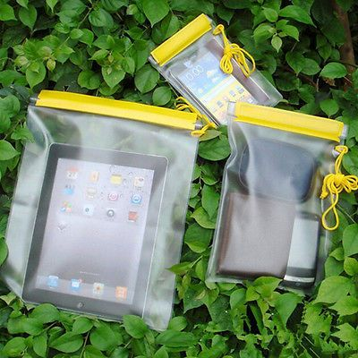3x waterproof camera mobile phones #pouch dry bag case cover #kayak canoe #campin,  View more on the LINK: 	http://www.zeppy.io/product/gb/2/322361528711/
