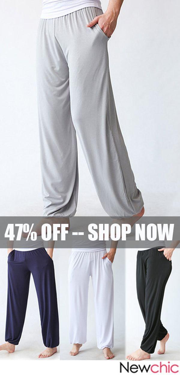 f77cf6e39d Lightweight Loose Comfy Breathable Yoga Pants /Sports Pants#yoga #sports  #fitness