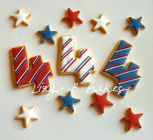 fourth of july cookie recipe