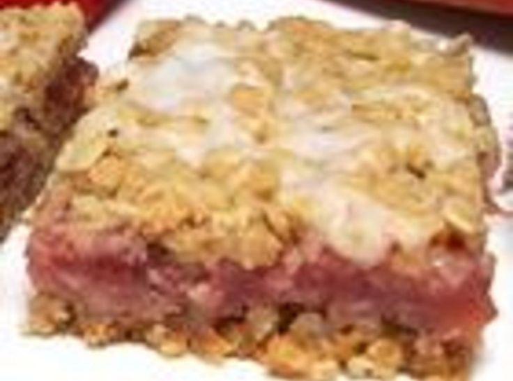 Strawberry Rhubarb Oatmeal In A Jar Recipe — Dishmaps