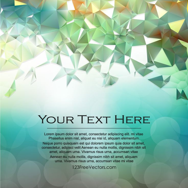 Abstract Polygon Triangle Background  - https://www.123freevectors.com/abstract-polygon-triangle-background-74583/