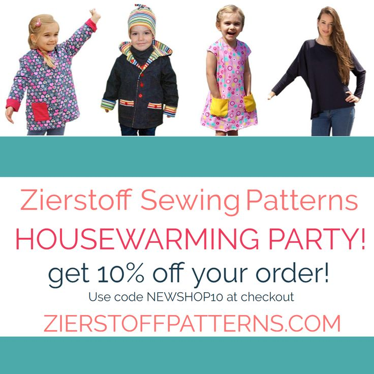 We are so happy that our new shop is up and running. Come for a visit and discover what we have created! Get 10% off your entire order by using the code NEWSHOP10. Happy sewing! Your Zierstoff Team - Ilka - Joanna - Julie - http://zierstoffpatterns.com #newshop #zierstoffpatterns #pdfpatterns #patterns #sewing #blogger #sewcialists #diy #sewingpattern #sewingproject #memade #fashion #wiw #wiwt #pinterest