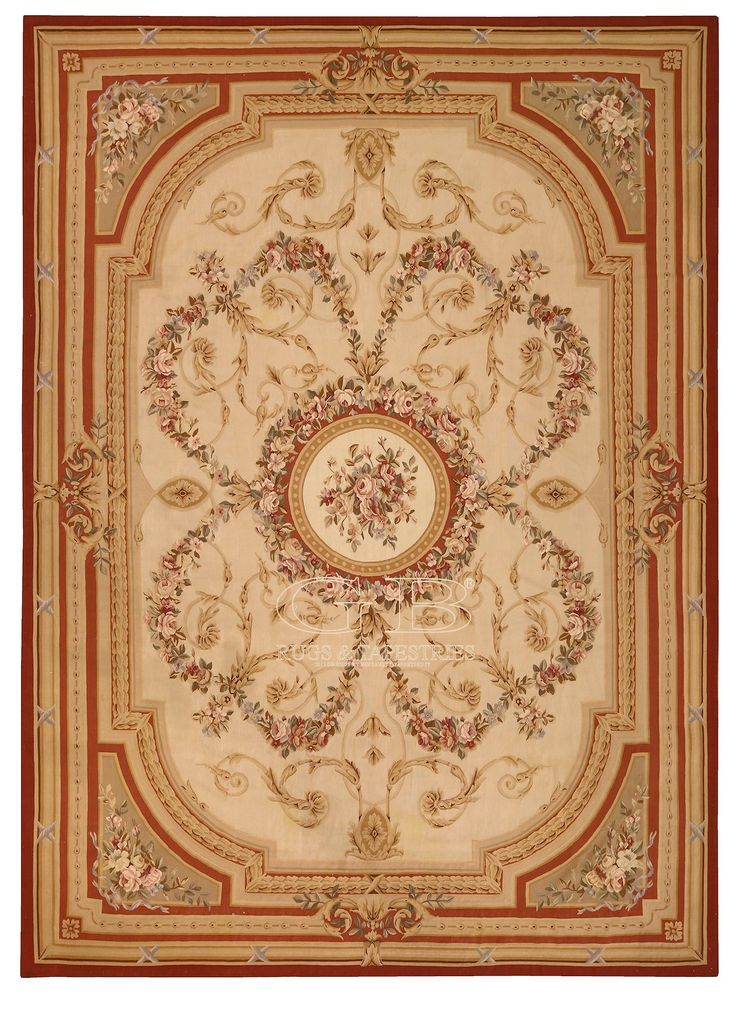 TAPPETO AUBUSSON WOVEN LEGENDS 430 x 297 | 141703944857 | GB Rugs