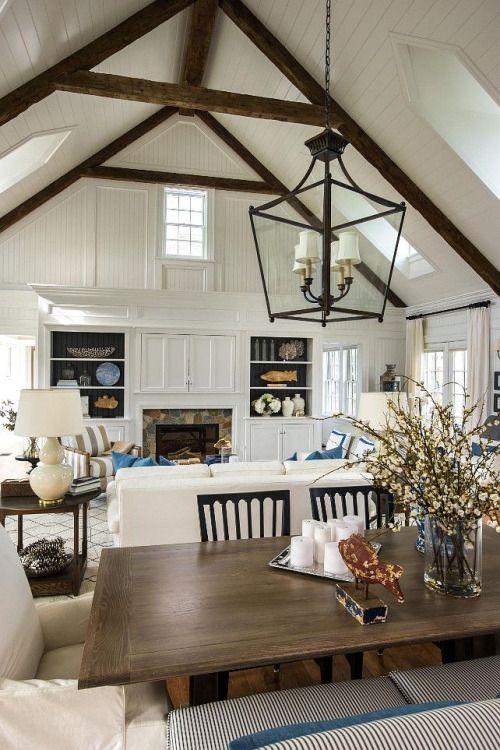 Fresh Farmhouse | Great Room | Barn House
