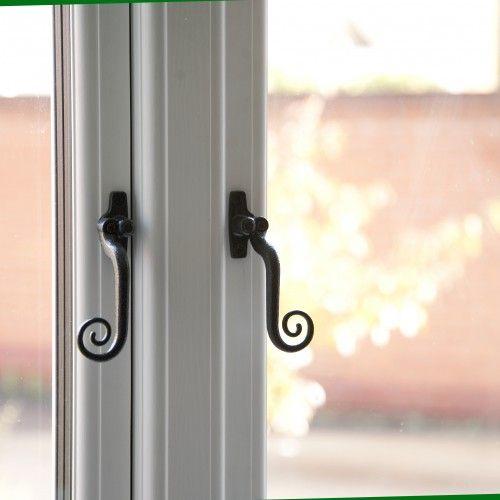 Antique black R9 Monkey Tail handles #windows #doors #hardware #homeimprovement