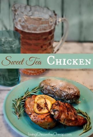 **Sweet Tea Chicken** This recipe is INSANELY Delicious. My family LOVES this. We NEVER have any leftovers when I make this.