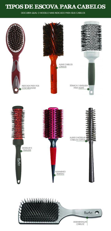 como escolher a escova de cabelo corretamente