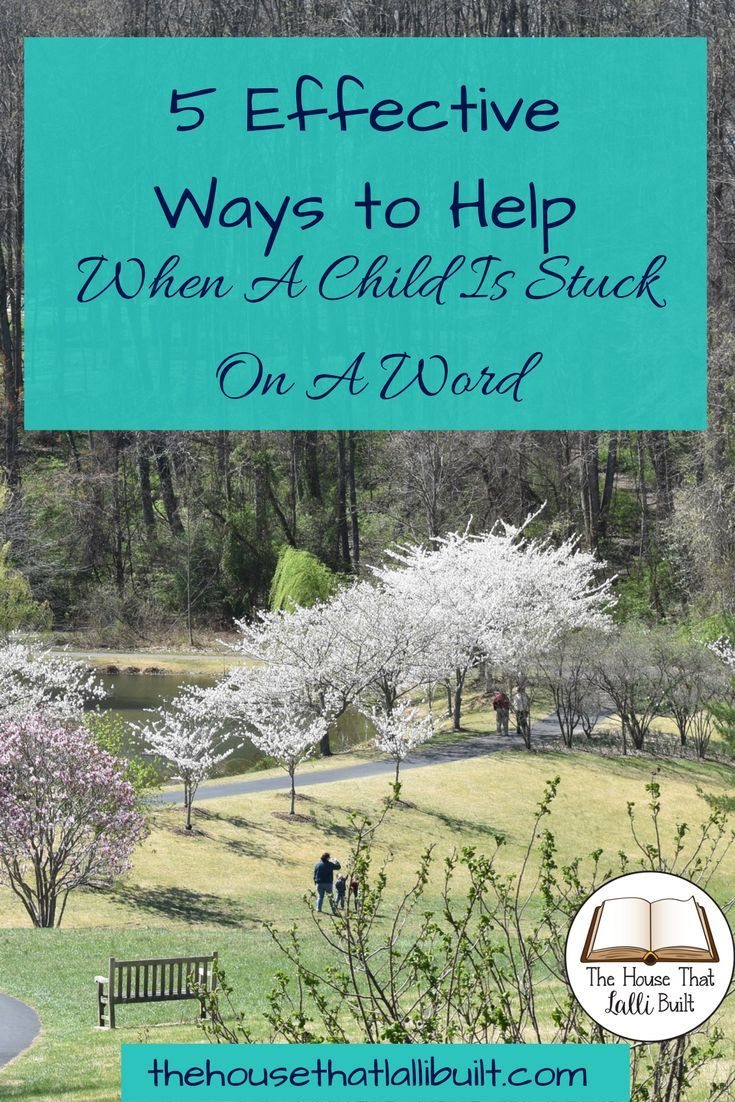 Need ideas on how to help a child when they are stuck on a word?  I have 5 (+ a bonus) tips that will help!