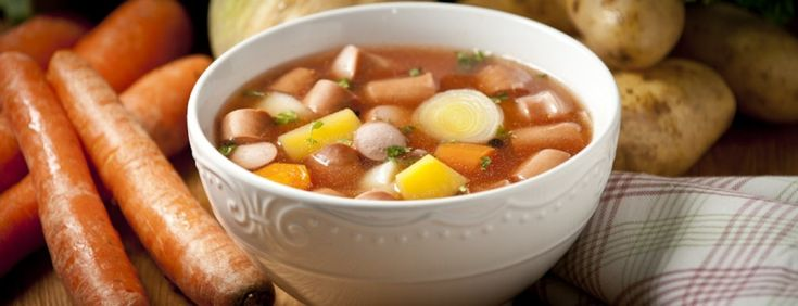 Nakkisoppa is an easy to make sausage and potato soup from Finland