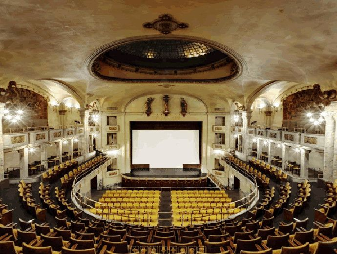 САМЫЕ НЕОБЫЧНЫЕ КИНОТЕАТРЫ МИРА - Odeon (Флоренция, Италия)