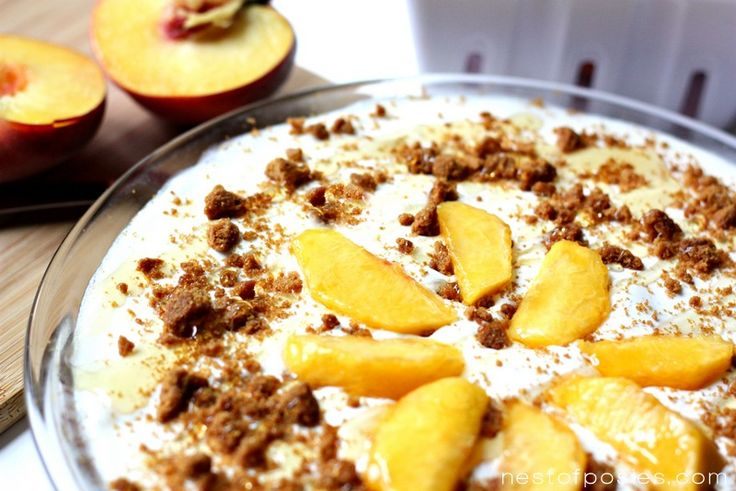 This Peaches and Cream Ice Box Pie is pure Southern comfort all wrapped into a pie dish.
