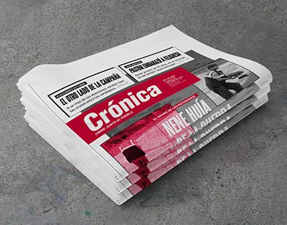 "Check out new work on my @Behance portfolio: ""Rediseño Diario Crónica + Suplemento Cocina"" http://be.net/gallery/32705509/Rediseno-Diario-Cronica-Suplemento-Cocina"