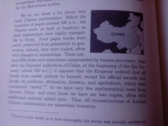 Geschiedenis van China.