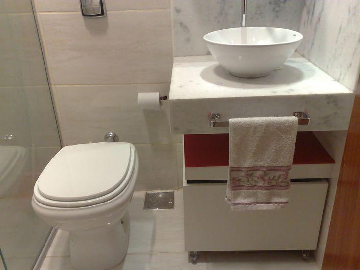 Simples  Banheiro  Pinterest  Pias, Banheiros e Meu cantinho -> Meu Banheiro Simples