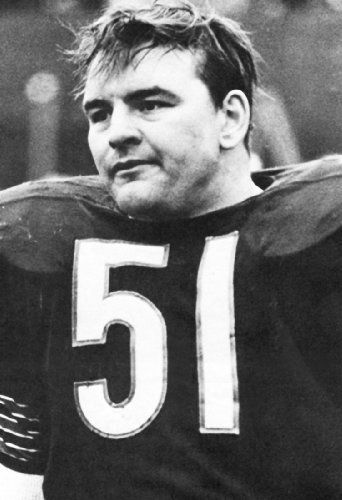 Dick Butkus Poster, Linebacker, Chicago Bears, American Football by Sports…