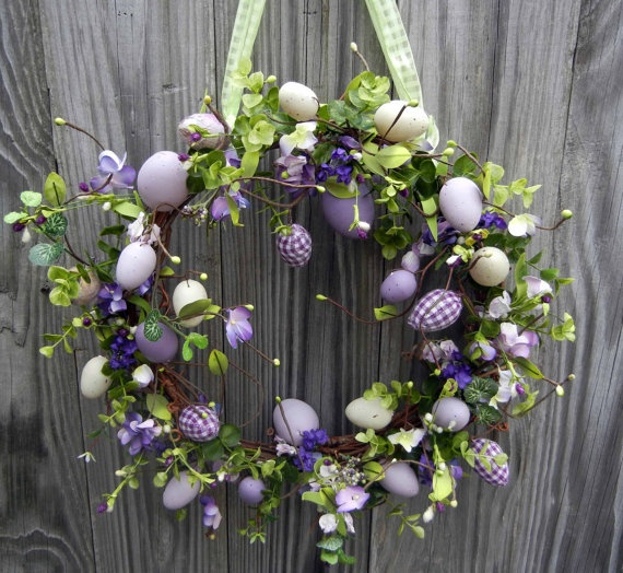 Easter wreath.