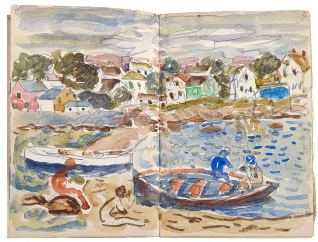 The last surviving and intact sketchbook by Maurice Prendergast that is not held by a museum.  An artist committed to recording contemporary life, Prendergast kept sketchbooks from the time he traveled to Paris in 1891 until his death in 1924.