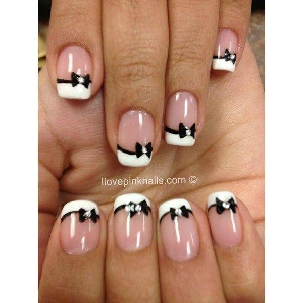 bow tie manicure