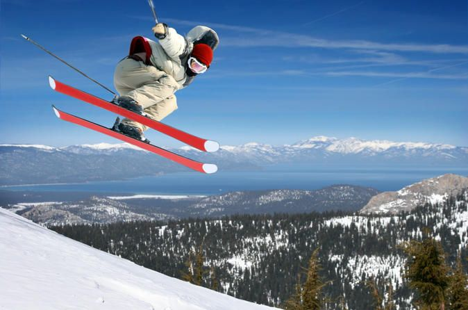 Ski or Snowboard Rental in Lake Tahoe You might not quite be ready to conquer the slopes like a professional, but you can master the mountains of Lake Tahoe by opting for a ski or snowboard rental package from multiple locations. Stop by rental areas close to Heavenly Ski Resort or swing by a convenient location at the junction of Pioneer Trail and Highway 50. Professionals will fit you for your choice of skis or a snowboards, as well as share the tips and tricks to gettin...