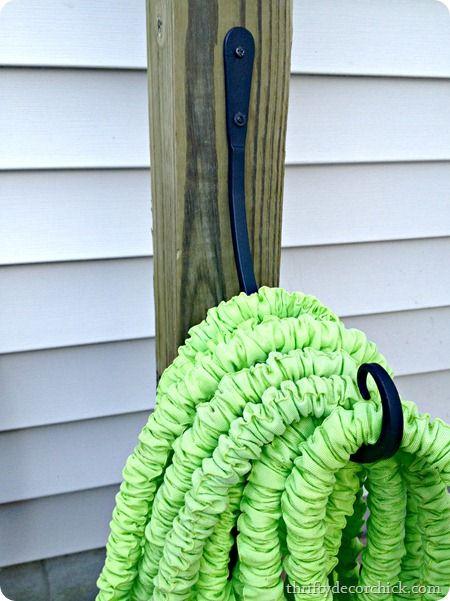 DIY hose holder hook