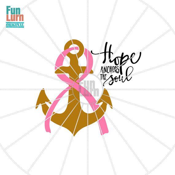 Breast Cancer SVG Breast Cancer Awareness hope by FunLurnSVG