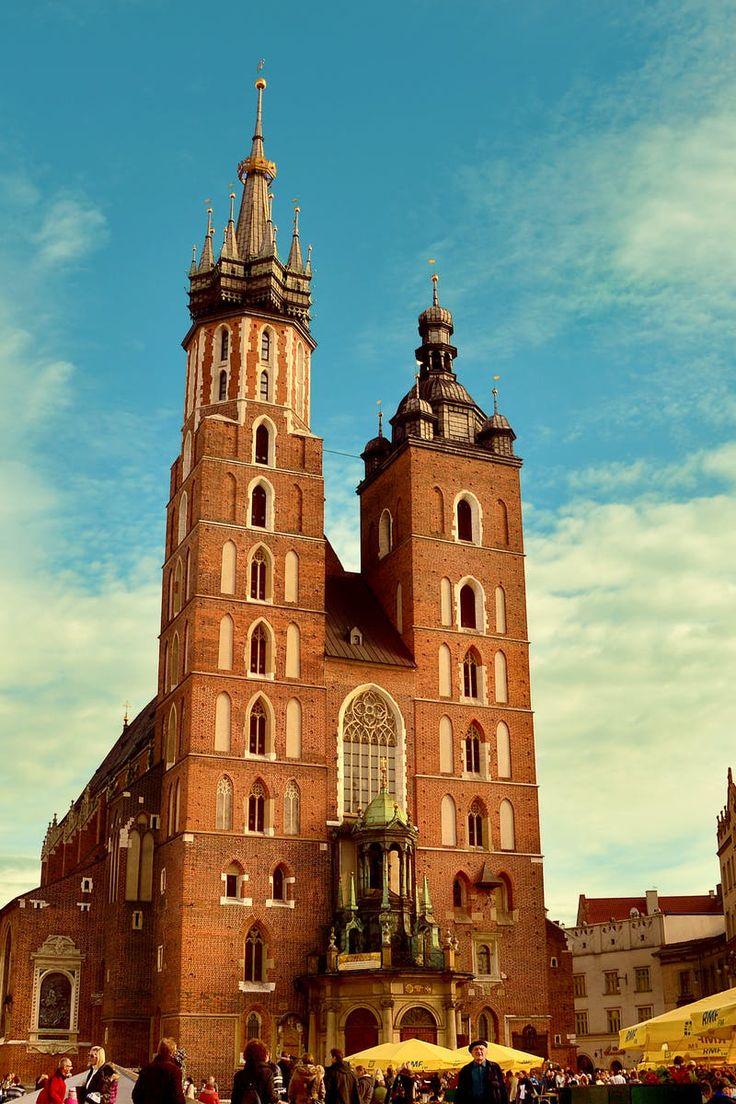 buildings, church, city